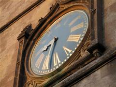 St. Bart's clock