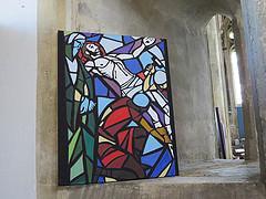 S Cyriacs glass